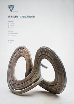 Math:Rules - Strange Attractors on Behance