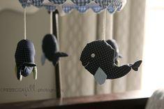 Whale mobile - adora