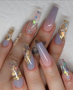 35 Pretty nail art designs for any occasion Nail art is for everyone who wants to look good and show off their creative talents on their nails. Cute Acrylic Nail Designs, Pretty Nail Designs, Pretty Nail Art, Nail Art Designs, Nails Design, Best Nail Designs, Acrylic Nail Designs Coffin, Creative Nail Designs, Creative Nails