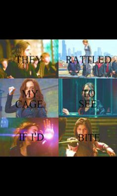 They rattled my cage to see if I'd bite-when they released me, they'd see that the answer was yes. The Evolution of Mara Dyer. Hermione(HP), Tris(Divergent), Rose(Vampire Academy), Katniss(Hunger Games), Clary(Mortal Instruments), Annabeth(Percy Jackson)