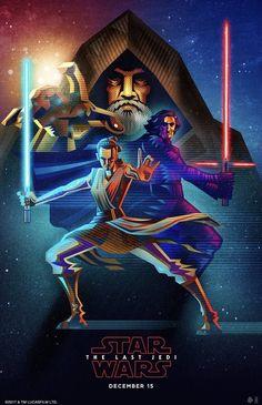 Amazing Illustration of Star Wars: The Last Jedi 29