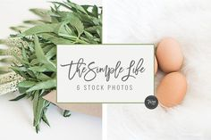 Simple Life Stock Photos + 4 FREE by TwigyPosts on @creativemarket