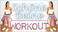 Schlanke Beine Workout - Abnehmen am Oberschenkel - Fett an Beinen verbr...