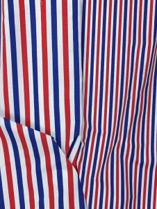 Tissu rayures bleu b
