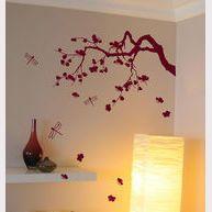 magnifique branche de cerisier japonais, disponible en plusieurs couleurs, vous disposez les différents élements pour créer votre sticker unique, decomood.com #sticker #stickerdecomood #decomurale #decosalon #decojapon #japon #decomood
