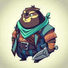 Derek Laufman's Pirate Bear