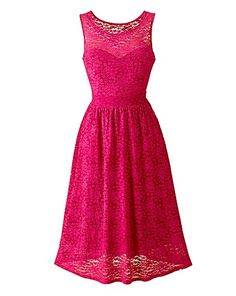 Lace Skater Dress | Simply Be