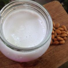 ... Milk on Pinterest | Homemade almond milk, Almond milk and Vanilla