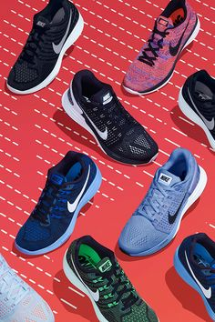 Run hard on someone's heels — but soft on your own. The Nike Lunar Running collection has 3 shoes that all share one thing: a lightweight, responsive feel for miles and miles. How many miles? That's up to you.