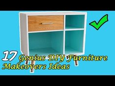(12) 17 DIY Furniture Makeovers Ideas - YouTube