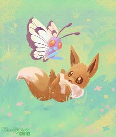 Eevee and Butterfree