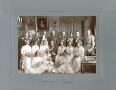 Swedish wedding group
