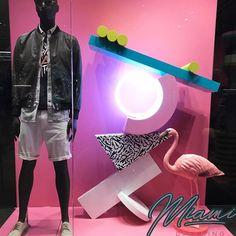 "DIESEL, Madison Avenue, Manhattan, New York, ""Miami Dreaming"", photo by DM clicking, pinned by Ton van der Veer"