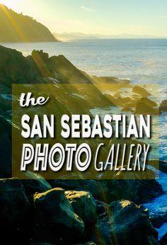 The Wanderlust Duo San Sebastian Photo Gallery. Basque Country, Travel Inspiration, Cool Photos, Photo Galleries, Spain, Wanderlust, City, Gallery, Beach