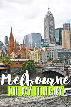 Melbourne, Australia - One day itinerary