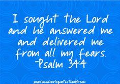 seeking the lord...