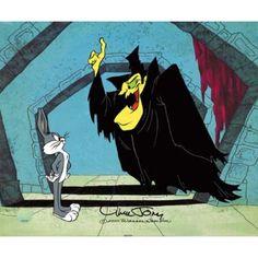 "chuck jones art | Chuck Jones Animation Art Limited Edition Cel:""Transylvania 6-5000"""