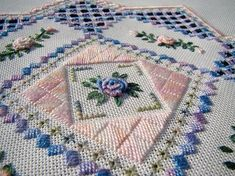 beautiful Hardanger embroidere