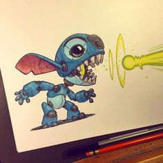 Stitch  by Jake Parker