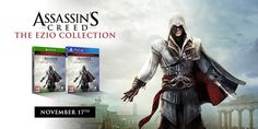 News: Assassin's Creed: The Ezio Collection coming November 17