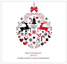 Merry Christmas 2012/13 by Stephanie River, via Behance