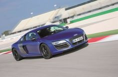 AUDI PLUS The Audi Plus is less like the luxury cars Audi usually makes and more like a supercar. Under the hood this speed machine has a 602 horsepower engine that produces 413 lb-ft of torque. New Audi R8, Audi R8 V10 Plus, Diesel, V10 Engine, Car Guide, Auto Service, Twin Turbo, Car Brands, Audi Rs7