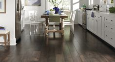 This Mohawk Marissa Chocolate Maple Laminate Flooring Has
