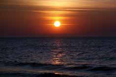Zachód słońca | Sunset #bałtyk #morze #baltic #sea #seaside #poland #polska #visitpoland #seeuinpoland