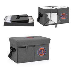New York Knicks Gray Ottoman Cooler & Seat