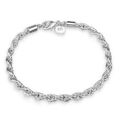 Sell Like Hot Cakes Hemp Rope Silver Fashion Bracelets Contracted Generous Fashion Jewelry Trendy Bracelets, Fashion Bracelets, Bangle Bracelets, Fashion Jewelry, Bangles, Diy Jewelry, Silver Jewelry, Wedding Jewellery Gifts, Silver Cuff