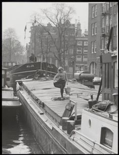 Amsterdam Cafe, Vintage Photos, Past, Black And White, Water, Photography, Gripe Water, Past Tense, Photograph
