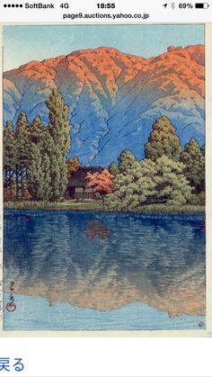 Kawase Hasui woodprint