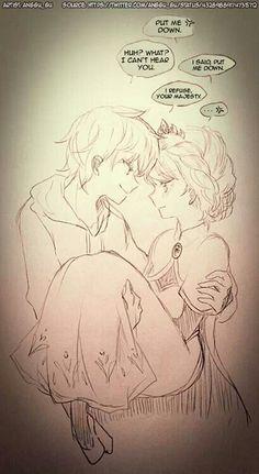 Jack Frost & Elsa