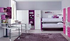 Girl Room, Bunk Beds, Loft, Children, Furniture, Comme, Google, Home Decor, Child Room
