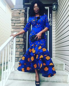 Clothing ideas on womens african fashion 463 African Fashion Designers, Latest African Fashion Dresses, African Dresses For Women, African Print Dresses, African Print Fashion, Africa Fashion, African Attire, African Wear, African Women