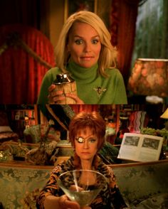 Fill 'er up. Swoosie Kurtz, Bryan Fuller, Pushing Daisies, Pie Hole, Film Stills, Color Palettes, Detective, Costume Ideas, Vintage Photos