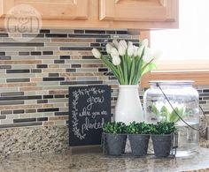 All Things G&D 2015 Spring Home Tour: Kitchen Decor #allthingsgd