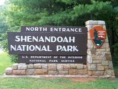 Shenandoah National Park in the state of Virginia