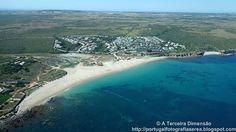 A Terceira Dimensão - Fotografia Aérea: Praia do Martinhal e Praia dos Rebolinhos