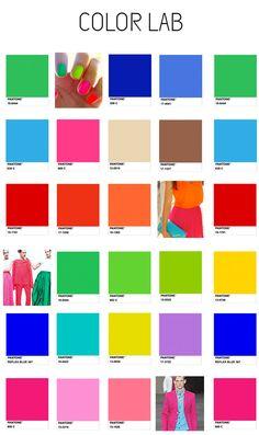 Color Lab SS14 colours