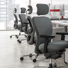 The CXOhd is preferred by many users because it provides all the needed support while still looking like a standard CXO™ Office Seating, Chair, Furniture, Design, Home Decor, Decoration Home, Room Decor, Home Furnishings