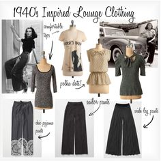 Casual Glamorous Outfits Inspired By The 1940s