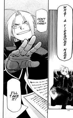 Fullmetal Alchemist · an ironic title