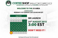 Coffee Shop Hackdroid CPA launch Clickbetter affiliate program JV invite - Launch Day: Monday, August 31st 2015 @ 3AM EST - http://v3.jvnotifypro.com/announcements/partner/glynn_k_and_rob_benwell/Coffee_Shop_Hackdroid