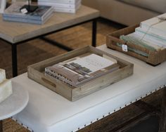 Crates and Pallet Decorative Tray makes a great retail display for books, cookies, and even jewelry.