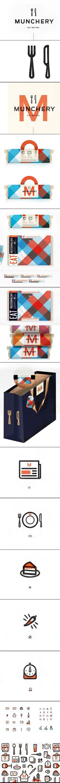 Branding Project Munchery by kelli anderson
