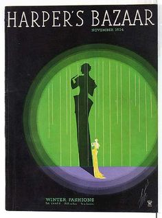 Oddball Films presents The Erté Era - Deco, Design and Dance from the and , a night of films and clips that highlight Art Deco desig. Art Deco Artwork, Art Deco Posters, Vintage Posters, Fashion Magazine Cover, Magazine Art, Magazine Covers, Herbert Bayer, Art Nouveau, Josef Albers