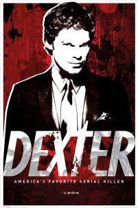 Dexter Morgan - Michael C Hall - plakat