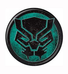 The Black Panther Icon Symbol Button is a fantastic button inspired by Marvel's King of Wakanda and ultra-powerful superhero Black Panther. Take a look see!