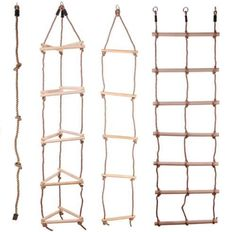 Details about KIDS WOODEN ROPE LADDER CLIMBING ROPE FOR TIMBER CLIMBING FRAME SELECTION Cat Playground, Natural Playground, Backyard Playground, Kids Outdoor Play, Backyard For Kids, Diy For Kids, Kids Climbing, Climbing Rope, Rope Ladder